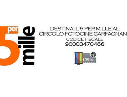 Il 5×1000 al Circolo Fotocine Garfagnana